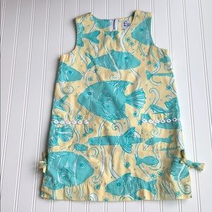 Vintage Lilly Pulitzer Swimming fish pattern
